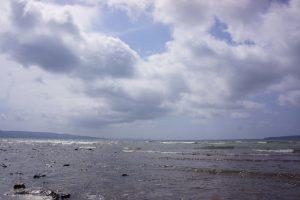 佐渡の真野湾